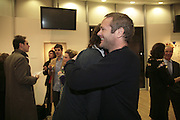 Henry Hudson and Richard Braine, Henry Hudson opening. Hiscox Projects. 1 Gt. St. Helen St. London. 22 February 2007.  -DO NOT ARCHIVE-© Copyright Photograph by Dafydd Jones. 248 Clapham Rd. London SW9 0PZ. Tel 0207 820 0771. www.dafjones.com.