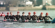 Chiswick London 2001 Women's Head of the river race Mortlake to Putney   © Intersport Images  <br /> <br /> THAMES RC (A crew)winning Head crew,  stroked by Sydney silver medalist, Guin Batten and supported by other members of the the GBR Team at Sydney.<br />   <br /> [Mandatory Credit:Peter SPURRIER:intersport Images]
