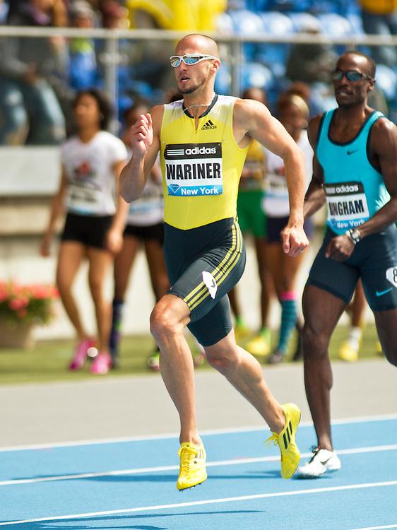 adidas Grand Prix professional track & field meet: mens 400 meters, Jeremy Wariner