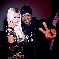 "Nicki Minaj releases a photo on Instagram with the following caption: ""When I met @asapferg a cpl years ago. Click the link in my bio to hear the #PlainJaneREMIX HARLEM to QUEENS. Ride wit da MOB! \ud83e\udd2c"". Photo Credit: Instagram *** No USA Distribution *** For Editorial Use Only *** Not to be Published in Books or Photo Books ***  Please note: Fees charged by the agency are for the agency's services only, and do not, nor are they intended to, convey to the user any ownership of Copyright or License in the material. The agency does not claim any ownership including but not limited to Copyright or License in the attached material. By publishing this material you expressly agree to indemnify and to hold the agency and its directors, shareholders and employees harmless from any loss, claims, damages, demands, expenses (including legal fees), or any causes of action or allegation against the agency arising out of or connected in any way with publication of the material."