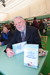 © London News Pictures. 31/05/2015. Hay-on-Wye, Powys, Wales, UK. Terry Waite signs copies of his book on the last day of the Hay Festival. Photo credit : Graham M. Lawrence/LNP.