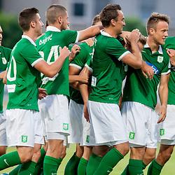 20140810: SLO, Football - Prva liga Telekom Slovenije, NK Radomlje vs NK Olimpija