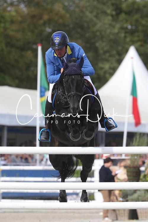 Ahlmann Christian, GER, Solid Gold Z<br /> Final 7 years  old Horses<br /> Zangersheide FEI World Breeding Jumping Championship 2018<br /> © Hippo Foto - Julien Counet