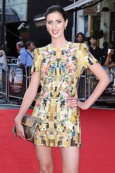 Licensed to London News Pictures. Jessica Knappett , Alan Partridge: Alpha Papa World Film Premiere, Vue West End cinema Leicester Square, London UK, 24 July 2013. Photo credit: Richard Goldschmidt/LNP