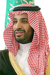 File photo - Saudi Arabia's new Defence Minister Prince Mohammed bin Salman bin Abdelaziz Al Saud, born in 1980 (probably the world's youngest minister of Defence) seen in a photo released by Royal Palace, on January 23, 2015. Saudi Arabia's king has appointed his son Mohammed bin Salman as crown prince - replacing his nephew, Mohammed bin Nayef, as first in line to the throne. Prince Mohammed bin Nayef, 57, has been removed from his role as head of domestic security, state media say. A new Saudi anti-corruption body has detained 11 princes, four sitting ministers and dozens of former ministers, media reports say. The detentions came hours after the new committee, headed by Crown Prince Mohammed bin Salman, was formed by royal decree. Photo by Balkis Press/ABACAPRESS.COM