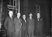 1956 Fianna Fail New Deputies Welcomed to Dail