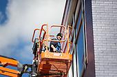 Duolingo Mural Vinyl Installation