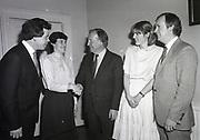 New three people joining up Fianna Fáil, Head Quarter, Dublin,<br /> 16th May 1984,
