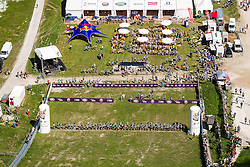 25.05.2014, Skiflugschanze Kulm, Kulm, AUT, Red Bull 400, Qualifikationsläufe Full Distance Männer, im Bild Uebersicht // during the Red Bull 400 at the Skiflying Hill, Kulm, Austria on 2014/05/25, EXPA Pictures © 2014, PhotoCredit: EXPA/ M.Kuhnke