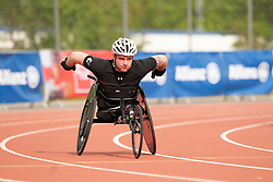 Mickey Bushell GBR at 2014 IPC Athletics Grandprix, Nottwil, Switzerland