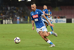 September 15, 2018 - Naples, Naples, Italy - Marek Hamsik of SSC Napoli during the Serie A TIM match between SSC Napoli and ACF Fiorentina at Stadio San Paolo Naples Italy on 15 September 2018. (Credit Image: © Franco Romano/NurPhoto/ZUMA Press)