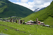 Georgia, Svaneti Region, Ushguli village