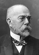 Robert Koch (1843-1910) German bacteriologist and physician. Tubercule bacillus: Tuberculin: Cholera bacillus: Nobel prize for physiology and medicine 1905.