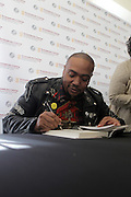NEW YORK, NY-NOVEMBER 16: Music Producer Timbaland attends 'Between The Lines' series featuring Music Producer Timbaland new book ' The Emperor of Sound' held at the The Schomburg Center for Research in Black Culture on November 16, 2015 in Harlem, New York City.  (Photo Terrence Jennings/terrencejennings.com)