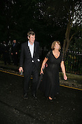 ZAC GOLDSMITH AND LADY ANNABEL GOLDSMITH, Sir David and Lady Carina Frost annual summer party, Carlyle Sq. London. 5 July 2007  -DO NOT ARCHIVE-© Copyright Photograph by Dafydd Jones. 248 Clapham Rd. London SW9 0PZ. Tel 0207 820 0771. www.dafjones.com.