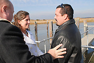 12/7/09 - 11:25:16 AM - FORTESCUE, NJ: Diana & Ken - December 7, 2009 - Fortescue, New Jersey. (Photo by William Thomas Cain/cainimages.com)