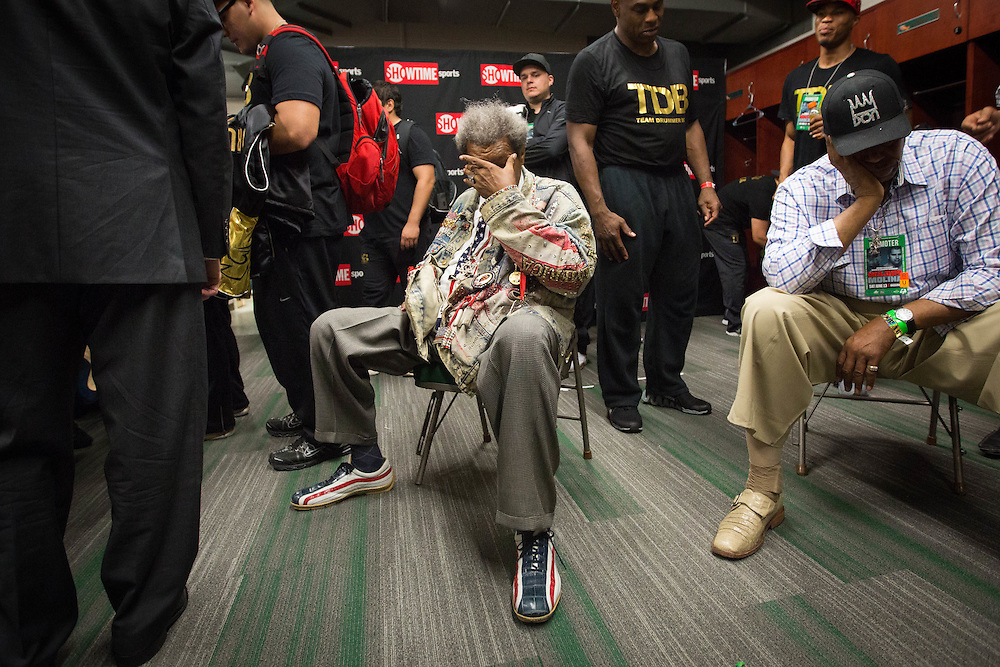 """Boxing promoter Don King, photographed for Sports Illustrated's """"Where Are They Now"""" edition during the fight between Eric Molina and Deontay Wilder at Bartow Arena in Birmingham, Ala. on Saturday, June 6, 2013. Photo by Kevin D. Liles/kevindliles.com"""