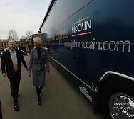 3/15/07 Des Moines IA Arizona Senator John McCain <br /> <br /> . (photo by Chris Machian/ for the New York Times)