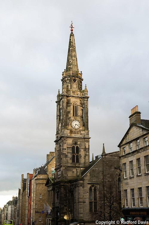 Church clock, Edinburgh