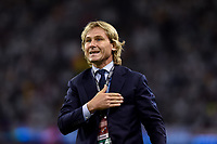 Juventus Vice President Pavel Nedved during the UEFA Champions League Final match between Real Madrid and Juventus at the National Stadium of Wales, Cardiff, Wales on 3 June 2017. Photo by Giuseppe Maffia.<br /> <br /> Giuseppe Maffia/UK Sports Pics Ltd/Alterphotos
