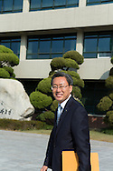 Vice principal Byung-Chul Shin, Shinil High School, Seoul, South Korea