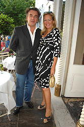 IMOGEN EDWARDS-JONES and her husband KENTON ALLEN at the launch party for her new book Beach Babylon held at Beach Blanket Babylon, Ledbury Road, London on 18th July 2007.<br /><br />NON EXCLUSIVE - WORLD RIGHTS