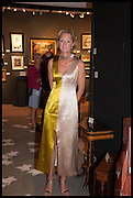 SARAH PERCY-DAVIS at the preview of LAPADA Art and Antiques Fair. Berkeley Sq. London. 23 September 2014.