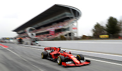File photo dated 20-02-2019 of Ferrari's Sebastian Vettel.