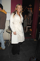 DAVINIA TAYLOR at the launch party for the shop 'Lost in Beauty' 117 Regents Park Road, London NW1 on 22nd April 2008.<br />