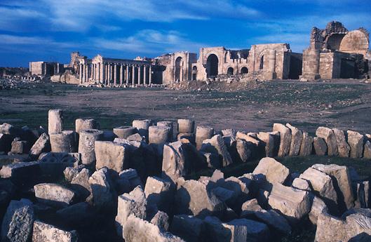 ancient Parthian ruins of Hatra Iraq