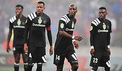 Cape Town 180314.Orland Pirates players in  a Nedbank  geme taking place at the Cape Town Stadium against Cape Town City . Photograph:Phando Jikelo/AFRICAN NEWS AGENCY/ANA