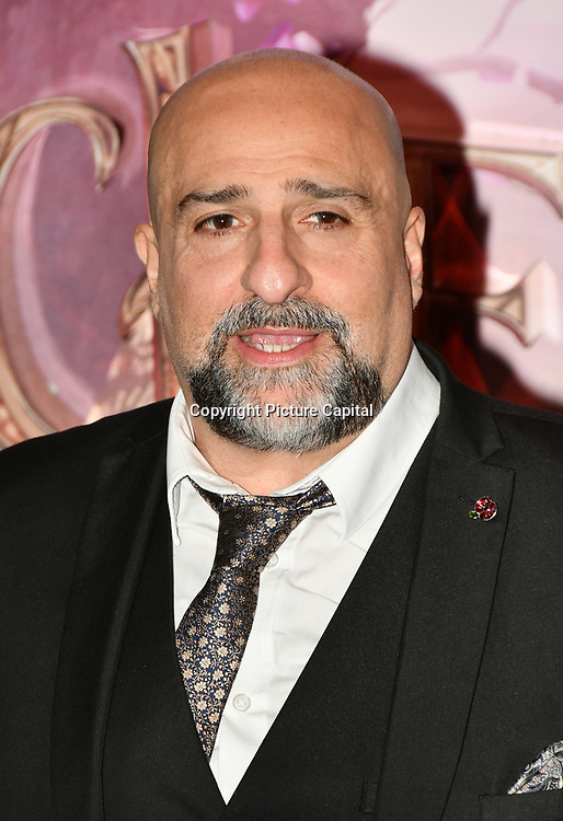 British actor and comedian Omid Djalili attend The Nutcracker and the Four Realms - UK premiere at Vue Westfield, Westfield Shopping Centre, Ariel Way on 1st Nov 2018, London, UK.