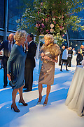 DIANA HARARI; RUTH FITZGIBBONS, CARTIER CHELSEA FLOWER SHOW DINNER Dinner hosted by Cartier in celebration of the Chelsea Flower Show was held at Battersea Power Station. 22 May 2012