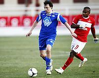 Fotball, 4. februar 2012 , Copa del Sol<br /> Molde - Spartak Moskva 0-3<br /> <br /> Vegard Forren , Molde<br /> Ari , SM<br /> <br /> , Spartak Moscow