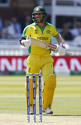 June 29, 2019 - London, United Kingdom - David Warner of Australia.during ICC Cricket World Cup between New Zealand and Australia at the Lord's Ground on 29 June 2019 in London, England. (Credit Image: © Action Foto Sport/NurPhoto via ZUMA Press)
