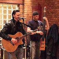 John Mackie performing live at FrankFest, Jabez Clegg, Manchester, 2012-03-31
