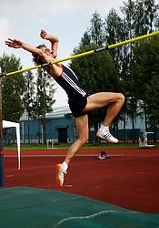 Athlete Rozle Prezelj at International meeting in Kranj, on May 27, 2006, Ljubljana, Slovenia. (Photo by Vid Ponikvar / Sportal Images)./ Sportida)