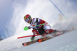 17.11.2013, Levi Black, Levi, FIN, FIS Ski Alpin Weltcup, Levi, Slalom, Herren, 1. Durchgang, im Bild Marcel Hirscher (AUT) // Marcel Hirscher of Austria in action during 1st run of mens Slalom of FIS ski alpine world cup at the Levi Black course in Levi, Finland on 2013/11/17. EXPA Pictures © 2013, PhotoCredit: EXPA/ Gunn/ Takusagawa<br /> <br /> *****ATTENTION - OUT of GBR*****