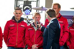 Team Deutschland, TEBBEL Maurice (GER), EHNING Marcus (GER)<br /> Rotterdam - Europameisterschaft Dressur, Springen und Para-Dressur 2019<br /> Eröffnungsfeier<br /> Opening ceremonie<br /> 19. August 2019<br /> © www.sportfotos-lafrentz.de/Stefan Lafrentz