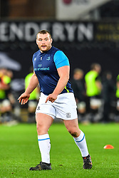 Leinster's Jack McGrath during the pre match warm up<br /> <br /> Photographer Craig Thomas/Replay Images<br /> <br /> Guinness PRO14 Round 18 - Ospreys v Leinster - Saturday 24th March 2018 - Liberty Stadium - Swansea<br /> <br /> World Copyright © Replay Images . All rights reserved. info@replayimages.co.uk - http://replayimages.co.uk
