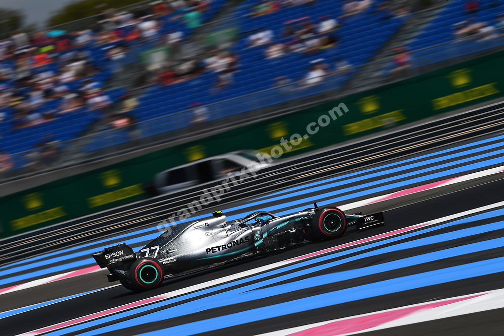 Valtteri Bottas (Mercedes) during practice for the 2019 French Grand Prix at Paul Ricard. Photo: Grand Prix Photo
