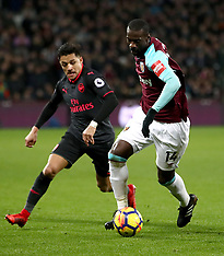 West Ham United v Arsenal - 13 Dec 2017