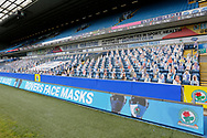 Cut out Blackburn fans in the stands at Ewood Park during the EFL Cup match between Blackburn Rovers and Doncaster Rovers at Ewood Park, Blackburn, England on 29 August 2020.