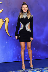 Montana Brown attending the Aladdin European Premiere held at the ODEON Luxe Leicester Square, London