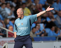 Photo: Rich Eaton.<br /> <br /> Coventry City v Preston North End. Coca Cola Championship. 14/04/2007. Iain Dowie can't look at his Coventry side concede 2 first half goals