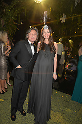 LEON & YANA MAX at The Animal Ball presented by Elephant Family held at Victoria House, Bloomsbury Square, London on 22nd November 2016.