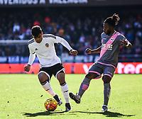 Valencia CF's  Danilo Barbosa and Rayo Vallecano's Lass during La Liga match. January 17, 2016. (ALTERPHOTOS/Javier Comos)