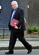 © Licensed to London News Pictures. 18/09/2012. Westinster, UK Transport Secretary Patrick McLoughlin. Cabinet meeting today in Downing Street 18 September 2012. Photo credit : Stephen Simpson/LNP