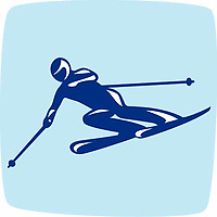OLYMPIC GAMES VANCOUVER 2010 - VANCOUVER (CAN) - PHOTO : VANOC/COVAN / DPPI<br /> PICTOGRAMS - ALPIN SKIING