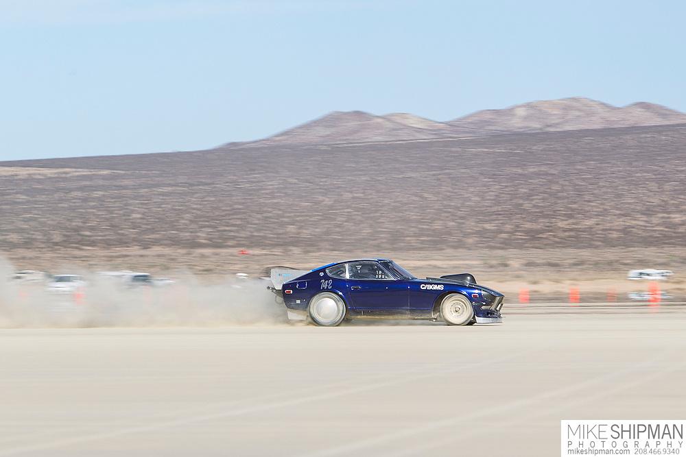Ikuya's Z, 742, eng C, body BGMS, driver Ikuya Negishi, 108.509 mph, record 240.752